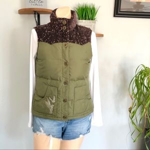 OLD NAVY DOWN FILLED FROST FREE PUFFER VEST
